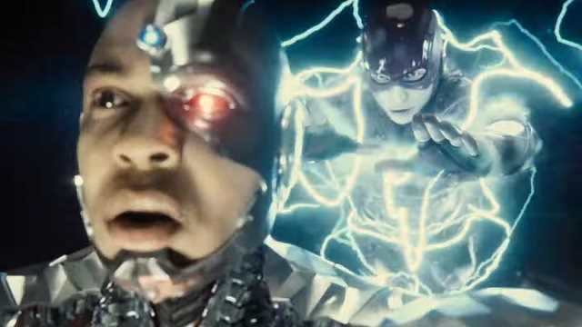 Cyborg and Flash (Zack Snyder´s Justice League)