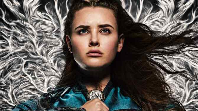 View Katherine Langford Prepare for Fight at Netflix's Cursed Trailer