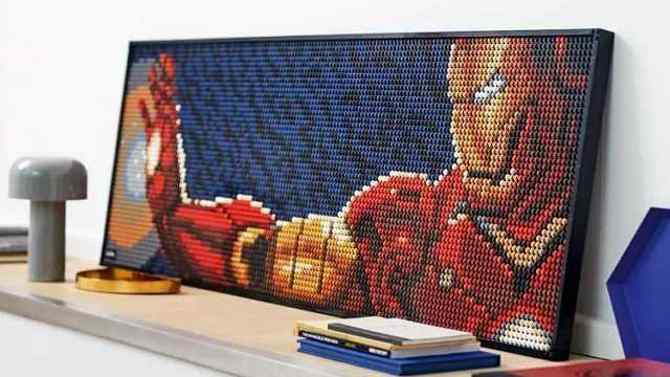 Lego Gets Into Pop Art With Buildable Posters